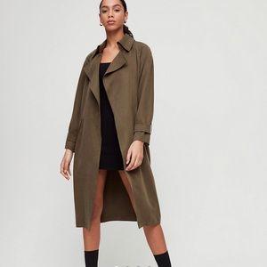 Aritzia Babaton Lawson Trench Coat